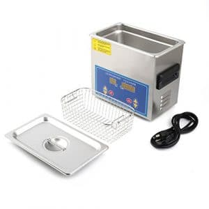 Water-chestnut Ultrasonic Cleaner Commercial and Jewelry Ultrasonic Cleaner With Heater And Digital Control (3.2 L)