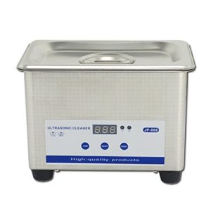 0.8L Professional Digital Ultrasonic Cleaner Machine with Timer Heated Stainless steel Cleaning tank 110V / 220V
