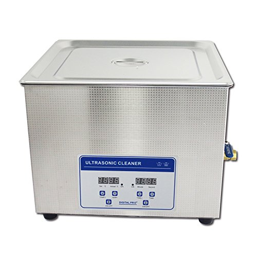 15L Professional Digital Ultrasonic Cleaner with Timer Heated Stainless steel Cleaning tank 110V/220V
