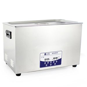 30L Professional Ultrasonic Cleaner Machine with Digital Touchpad Timer Heated Stainless steel tank