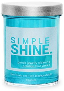 Gentle Jewelry Cleaner Solution | Gold, Silver, Fine & Fashion Jewelry Cleaning | Ammonia Free Clean