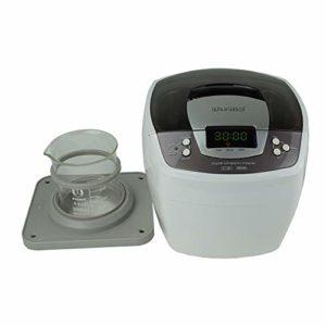 iSonic P4810+BHK01A Commercial Ultrasonic Cleaner w/ 500 ml Beaker Holder Set for DIY Liposomal Vitamin C