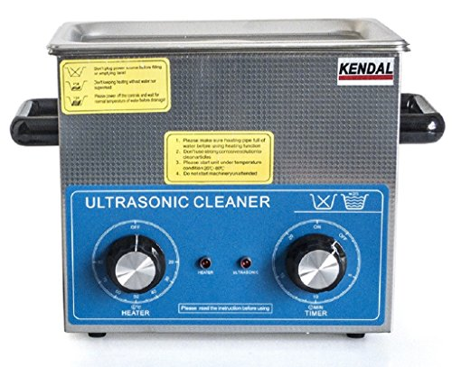 Kendal Commercial Grade 220 Watts 3 Liters Ultrasonic Cleaner HB-23MHT