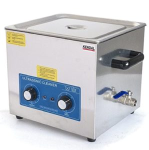 Kendal Commercial grade 760 watts 3.17 gallon (12 Liters) heated ultrasonic cleaner HB612MHT