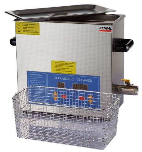 Kendal Commercial Grade Kendal 6 Liters 380 Watts HEATED ULTRASONIC CLEANER HB36