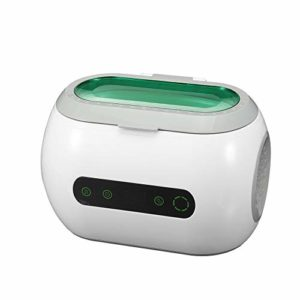 NLYWB Ultrasonic Cleaner, Ring Diamond Retainer, 304 Stainless Steel Liner, Touch Control, Led Screen Display, Suitable for Glasses, Jewelry, Etc, 8×5.5×5.4 Inch